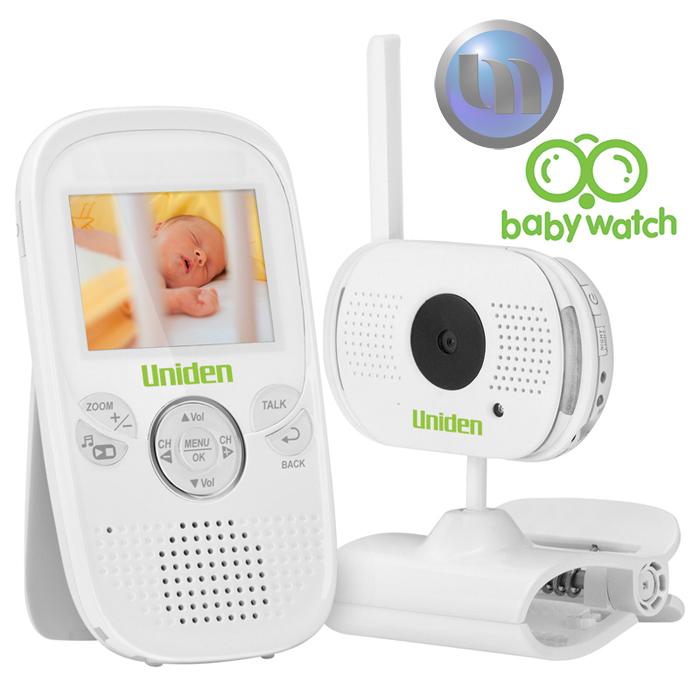 uniden 2 3 lcd baby watch wireless monitor 1 camera night light walkie t ebay. Black Bedroom Furniture Sets. Home Design Ideas